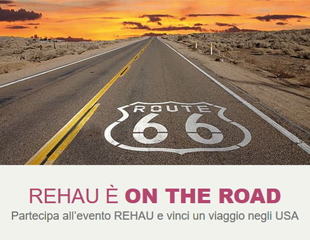 REHAU On The Road, i sistemi REHAU in tour per tutta Italia